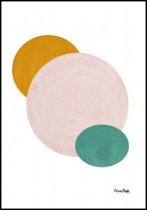 Abstract Circle Plakat