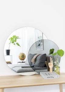 Spejl Clear & Warm Grey 80x100 cm