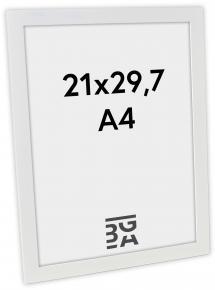 Ramme Stockholm Hvid 21x29,7 cm (A4)