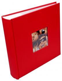 Fun Album rød - 200 Billeder i 10x15 cm