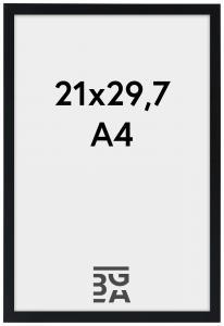 Ramme Edsbyn Sort 21x29,7 cm (A4)