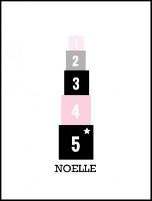Blocks Pink