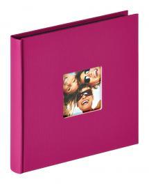 Fun Album Lilla - 18x18 cm (30 Sorte sider / 15 blade)