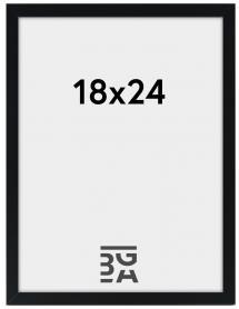Ramme Edsbyn Sort 18x24 cm