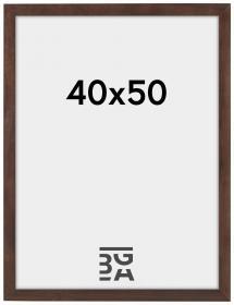 Stilren Billedramme Valnød 40x50 cm
