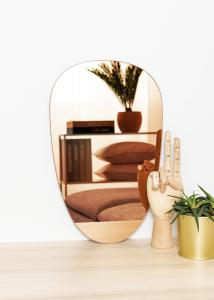 KAILA Spejl Shape II Rose Gold 25x40 cm