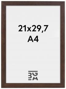 Stilren Billedramme Valnød 21x29,7 cm (A4)