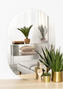 KAILA Spejl Oval 70x100 cm