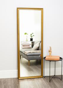 Spejl Rokoko Guld 64x170 cm