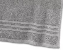 Håndklæde Basic Frotté - Grå 50x70 cm