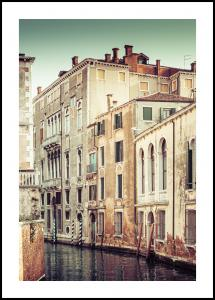 Canal in Venice Plakat