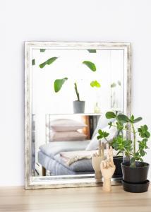 Spejle Kallsta Sølv 60x80 cm