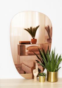 KAILA Spejl Shape II Rose Gold 64x100 cm