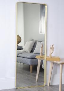 Spejl Messing 60x152 cm