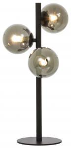 Bordlampe Molekyl 3 - Sort/Røg