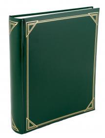 Henzo Promo Album Grøn - 29x33 cm (100 Hvide sider / 50 blade)