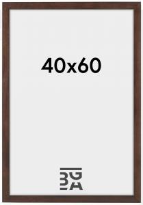 Stilren Billedramme Valnød 40x60 cm