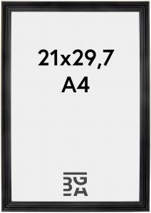 Verona Sort 21x29,7 cm (A4)