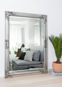 Spejl Bologna Sølv 60x90 cm