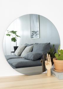 KAILA Rundt Spejl Smoked Grey 70 cm Ø
