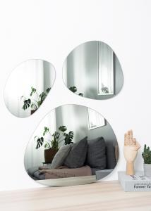 Spejl Set Warm Grey - 3 st