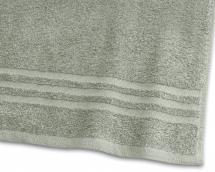 Badehåndklæde Basic Frotté - Grøn 65x130 cm