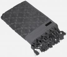 Handklæde Miah - Mørkegrå 70x140 cm