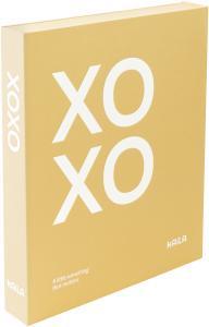 KAILA XOXO Yellow - Coffee Table Photo Album (60 Sorte Sider / 30 Blade)