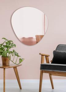 Spejl Shape Rose Gold 68x70 cm