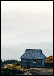Lonely Cabin Plakat