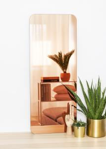 KAILA Spejl Rectangle Rose Gold 40x100 cm