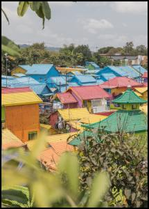 Colorful Village Plakat