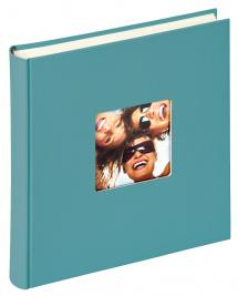 Fun Album Turkis - 30x30 cm (100 Hvide sider / 50 blade)