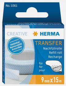 Herma Glue refill Transfer removable - 15m