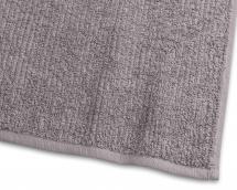 Håndklæde Stripe Frotté - Grå 50x70 cm