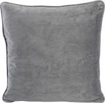 Velvet Pudebetræk Grå 45x45 cm