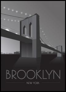 Brooklyn Bridge Plakat