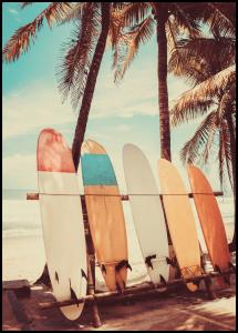 Surfboards Plakat