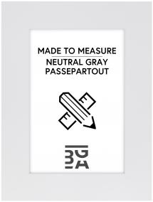 Passepartout Neutral Grey - Bestilt efter mål