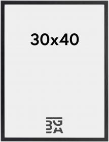 Ramme Galant Akrylglas Sort 30x40 cm