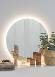 KAILA Spejl Frost LED 60 cm Ø