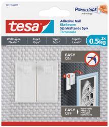 Tesa - Selvhæftende søm til alle vægtyper (max. 2x0,5kg)