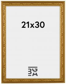 Nostalgia ramme Guld 21x30 cm