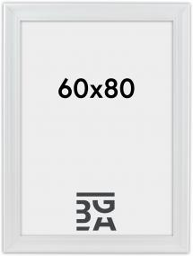 Mora Billedramme Premium Hvid 60x80 cm