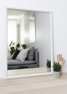 Spejl Nostalgia Hvid 50x70 cm
