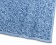 Gæstehåndklæde Stripe Frotté - Blå 30x50 cm