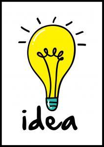 Lightbulb Plakat