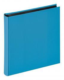 Fun Havsblå - 30x30 cm (100 Sorte sider / 50 blade)