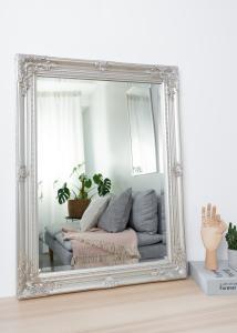 Spejl Antique Sølv 50x70 cm