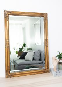 Spejl Bologna Guld 60x90 cm